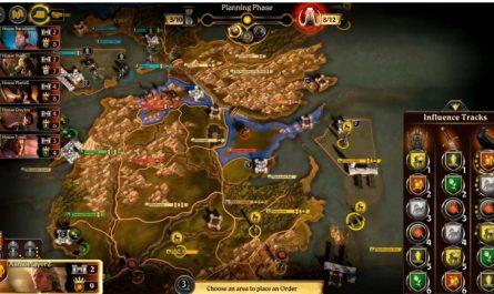 A Game of Thrones: настольная игра - цифровое издание теперь доступно для iOS и Android