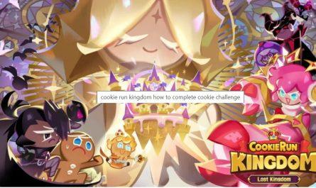 Cookie Run: Kingdom Как пройти событие Cookie Challenge