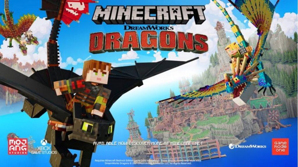 Дополнение Minecraft How To Train Your Dragon теперь доступно