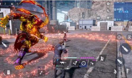 Final Fantasy VII The First Soldier Первые кадры игрового процесса, опубликованные в Интернете