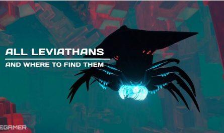 Subnautica: Все левиафаны и где их найти