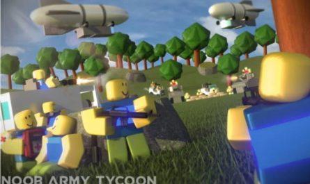 Лучшая армия в Roblox Noob Army Tycoon