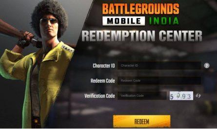 BGMI Redemption Center: Как погасить коды BGMI