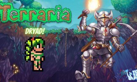 Дриада в Terraria Mobile - где искать и зачем они нужны