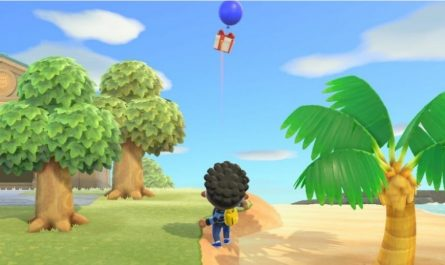 Как сбить летающий дар в Animal Crossing New Horizons