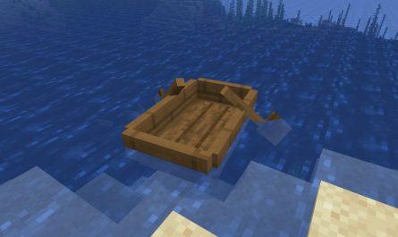 Как сделать лодку в Майнкрафт