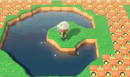 Как создать реку, водопад, озеро, пруд в Animal Crossing: New Horizons