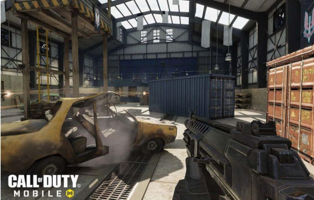 Киллхаус с карты Modern Warfare