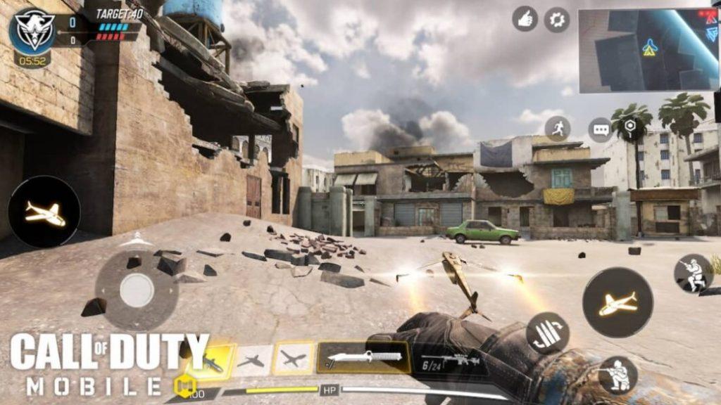 Перекрестный огонь с Modern Warfare