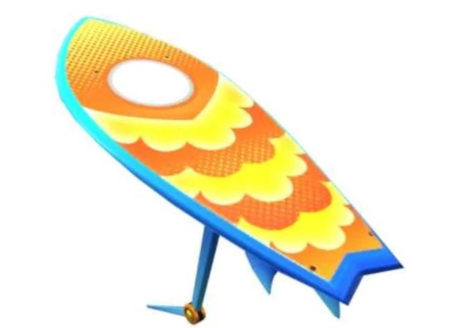 Солнечный мастер серфинга в Mario Kart Tour