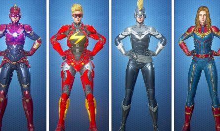 Marvel Future Revolution Captain Marvel: руководство по сборке